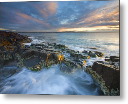 Freycinet Metal Print featuring the photograph Freycinet Cloud Explosion by Mike Dawson