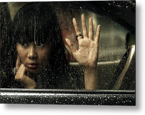 Goodbye Metal Print featuring the photograph Goodbye My Lover by Ismail Raja Sulbar