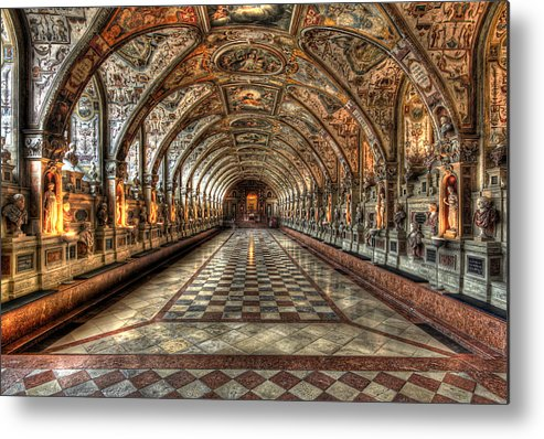 Hall Metal Print featuring the photograph Grand Hall by John Keyser