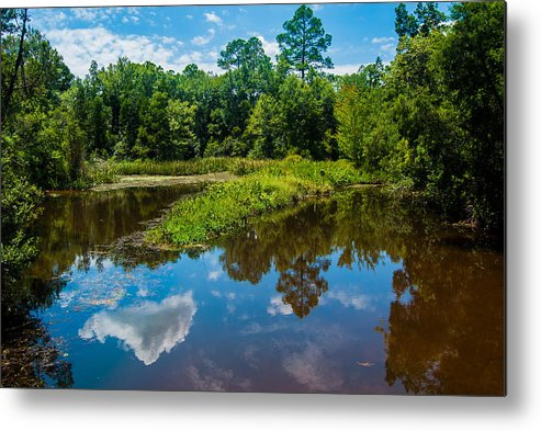 Uwf Metal Print featuring the photograph Great Reflections by Jon Cody
