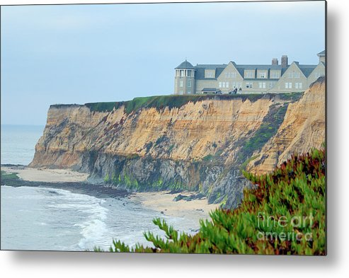 Half Moon Bay Golf Links Metal Print featuring the photograph Half Moon Bay by Betty LaRue