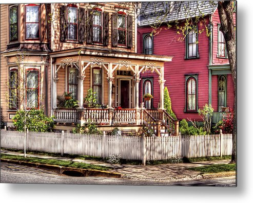Savad Metal Print featuring the House - Country Victorian by Mike Savad