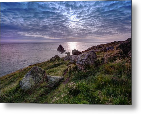 Lands End Metal Print featuring the photograph Lands End by Graham Moore