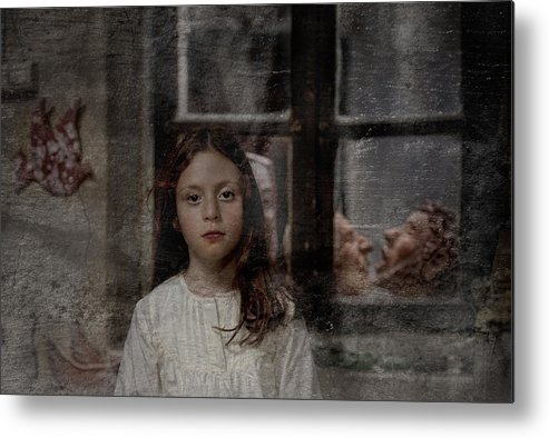 Little Metal Print featuring the photograph Little Girl by Nur TANRIOVEN