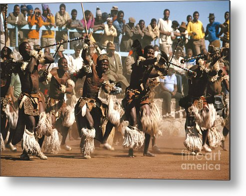 South Africa Metal Print featuring the photograph Mine Dancers South Africa by Susan McCartney
