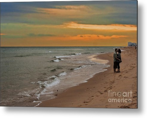 Florida Metal Print featuring the photograph Oblivious by Barbara McMahon