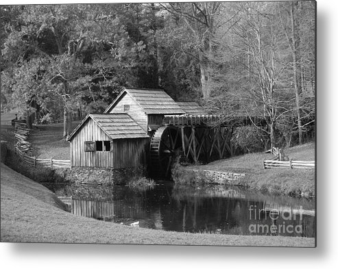 Virginia Metal Print featuring the photograph Virginia's Old Mill by Eric Liller