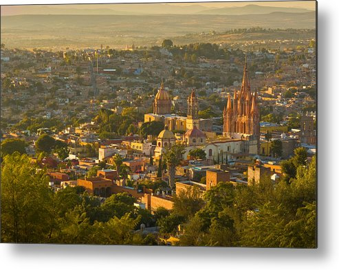 Dusty Metal Print featuring the photograph Overlooking San Miguel De Allende by Dusty Demerson