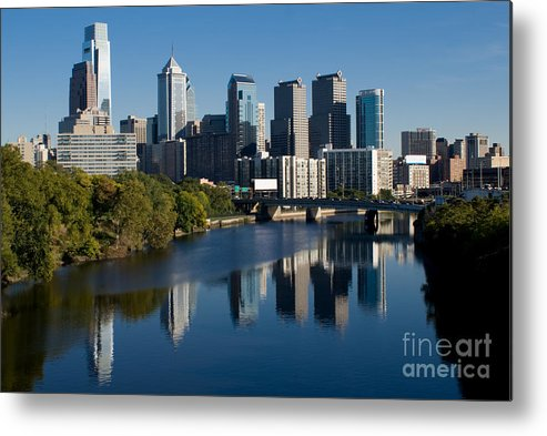 Philadelphia Metal Print featuring the photograph Philadelphia Pennsylvania by Anthony Totah