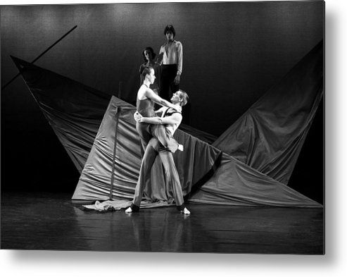 Toronto Dance Theater Metal Print featuring the photograph Reprieve #1 by David M Davis