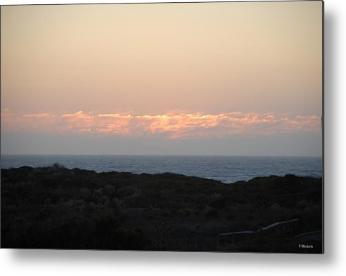 Sunsets Metal Print featuring the photograph S19 by Thomas Medaris