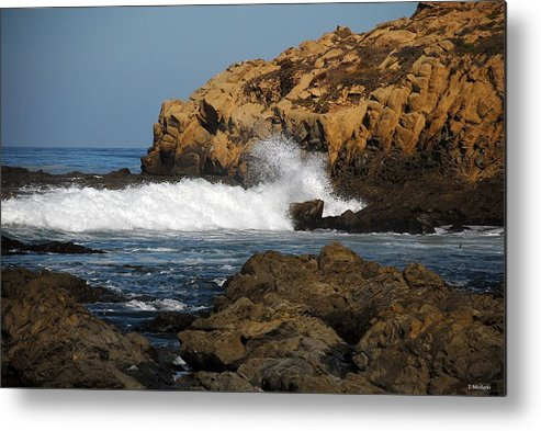 Seascapes Metal Print featuring the photograph Sc15 by Thomas Medaris