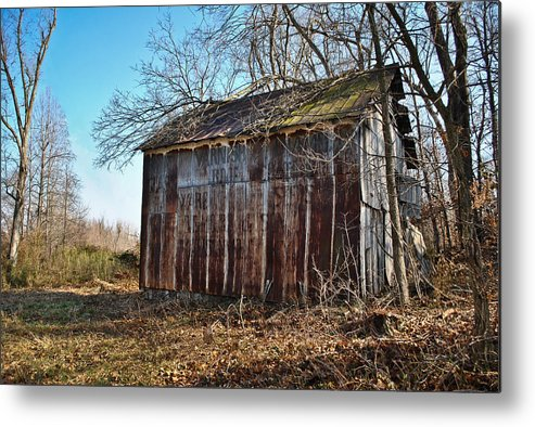 Secluded Barn Series Metal Print featuring the photograph Secluded Barn Series by Greg Jackson