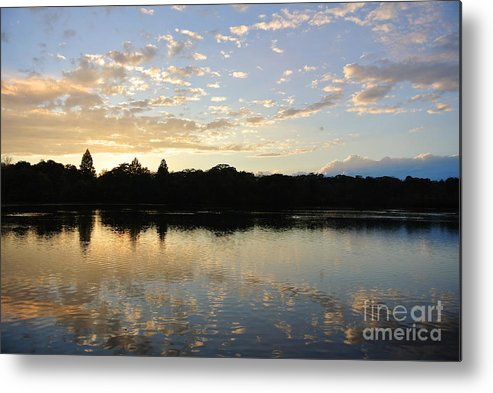 Seascape Metal Print featuring the photograph Serenity Sea by Charlotte Stevenson