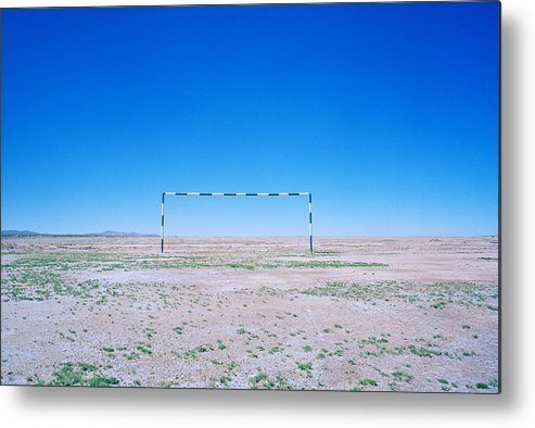 Surreal Metal Print featuring the photograph Field Of Dreams by Shaun Higson