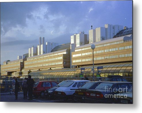 Sweden Metal Print featuring the photograph Stockholm City Train Station by Ted Pollard