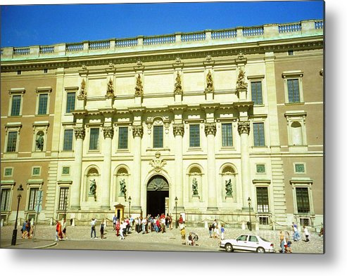Sweden Metal Print featuring the photograph Stockholm Palace by Ted Pollard