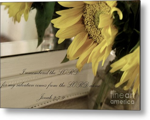 Sunflower Metal Print featuring the photograph Sunflower by Valerie Winebrenner
