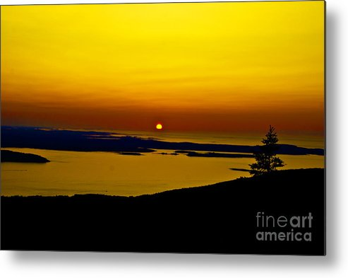 Landscape Metal Print featuring the photograph Sunrise by Fred L Gardner