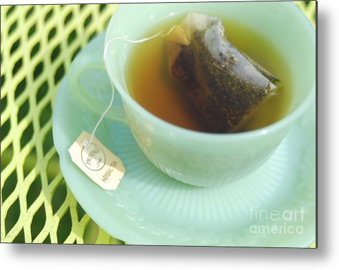 Tea Metal Print featuring the photograph Tea by Valerie Winebrenner