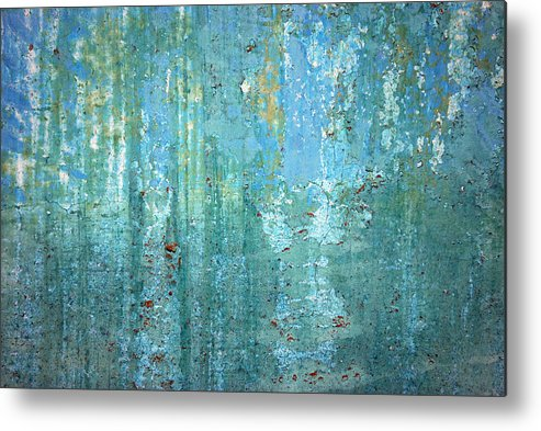 Abstract Metal Print featuring the photograph Textured Dream by Kjirsten Collier