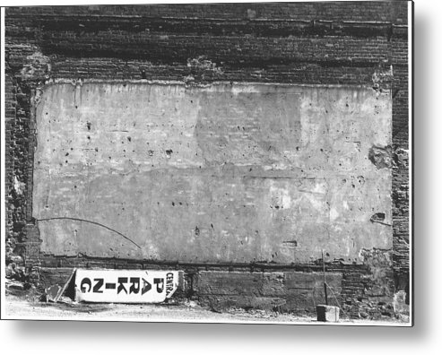 Urban Landscape Metal Print featuring the photograph The Dining Room by Richard Stanford