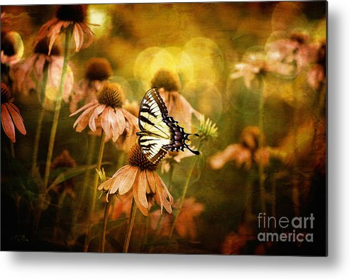 Floral Metal Print featuring the photograph The Very Young At Heart by Lois Bryan