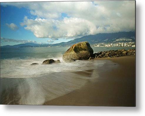 Vancouver Metal Print featuring the photograph Third Beach In Vancouver by Ann Badjura