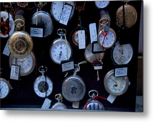 Time Metal Print featuring the photograph Time Piece by Eric Tressler