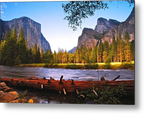 Yosemite Metal Print featuring the photograph Valley View - Yosemite National Park by Jean-Pierre Mouzon