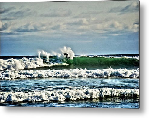 Water Metal Print featuring the photograph V.i. 0020 by Charles Cunningham