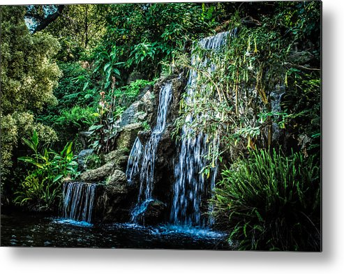 Waterfall Metal Print featuring the photograph Waterfall by AR Harrington Photography