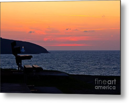 Falmouth Metal Print featuring the photograph Sunrise Falmouth Docks by Brian Roscorla