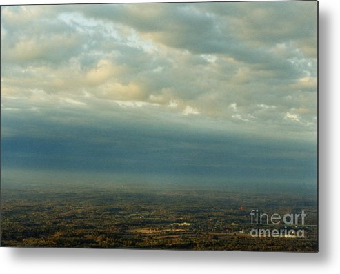 Birds Metal Print featuring the photograph A Majestic Birds Eye View by Thomas Luca