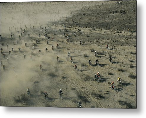 Scenes And Views Metal Print featuring the photograph Aerial View Of Hundreds by Walter Meayers Edwards