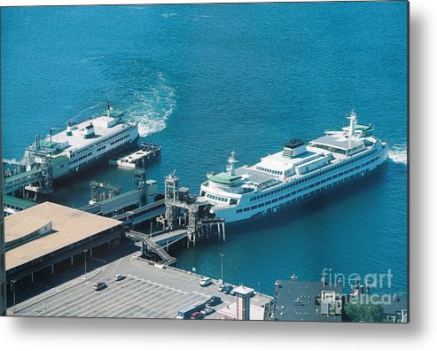 Ferries Metal Print featuring the photograph All Aboard by Bruce Borthwick