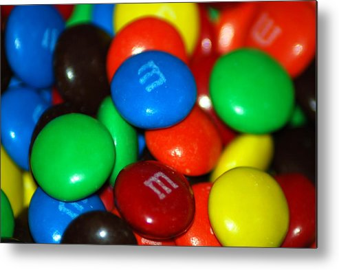 Candy Metal Print featuring the photograph Candy by Michael Merry