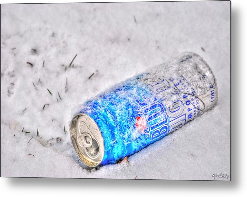 Metal Print featuring the photograph Cold One by Michael Frank Jr
