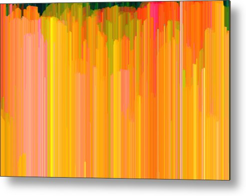 Abstract Metal Print featuring the photograph Color Tones 2 by Lyle Crump