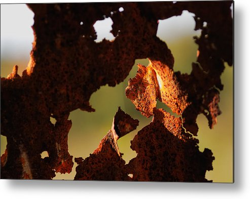 Abstract Metal Print featuring the photograph Day Break by Susan Capuano