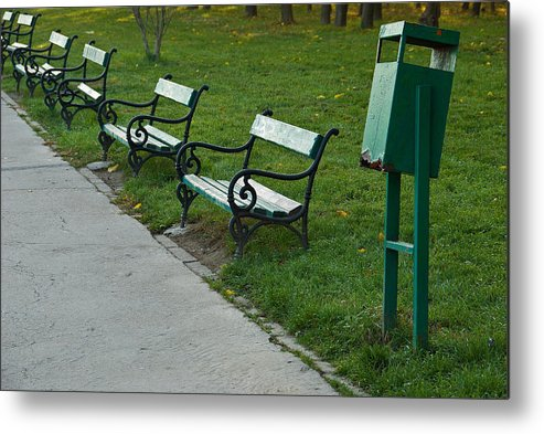 Park Metal Print featuring the photograph Do You Remember ... by Artin Mikaelyan