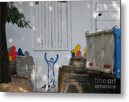 Buenos Aires Metal Print featuring the photograph Freedom by Jen Bodendorfer