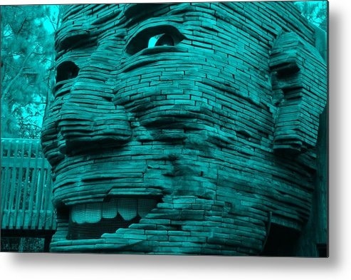 Architecture Metal Print featuring the photograph Gentle Giant In Turquois by Rob Hans