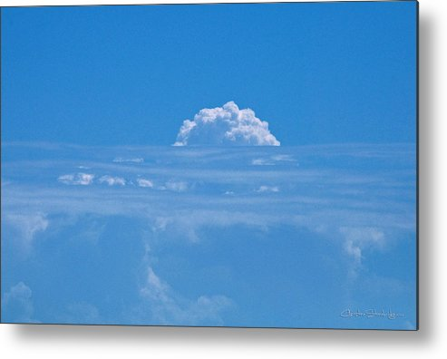 Clouds Metal Print featuring the photograph Head In The Clouds by Christine Stonebridge