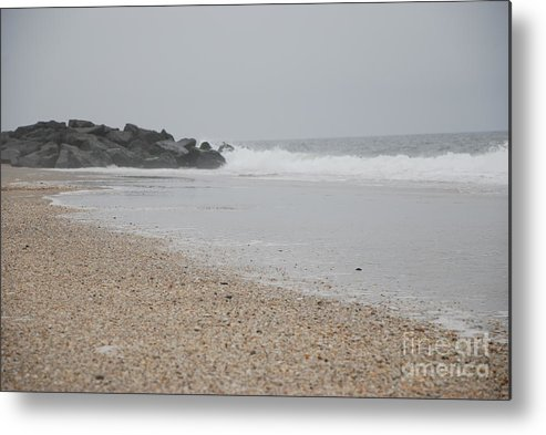 Jersey Shore Metal Print featuring the photograph Jersey Shore by Diane Fiore