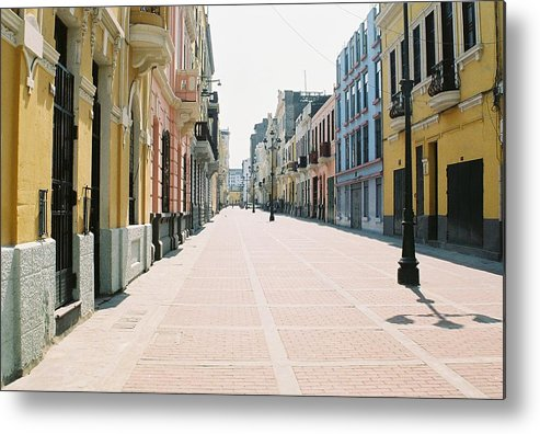 Lima Metal Print featuring the photograph Lima Market by Nimmi Solomon