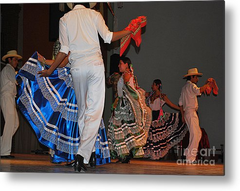 Dance Metal Print featuring the photograph May I Have This Dance by Anne Gordon