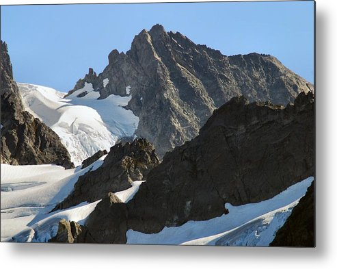 Mountain Metal Print featuring the photograph Mountain's Majesty by Michael Merry