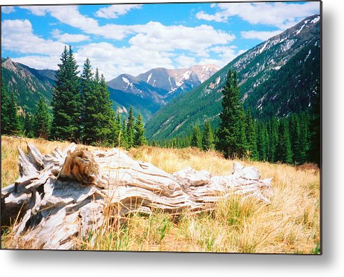 Nature Metal Print featuring the photograph Music Pass Basin by Daniel Dodd