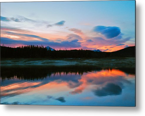 Colorado Metal Print featuring the photograph November Sunrise by Bob Berwyn